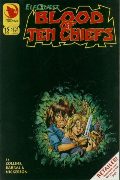 Elfquest: Blood of Ten Chiefs #15 comic books for sale