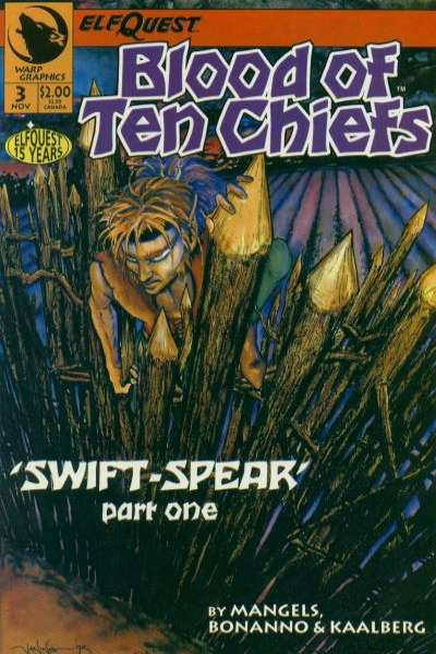 Elfquest: Blood of Ten Chiefs #3 Comic Books - Covers, Scans, Photos  in Elfquest: Blood of Ten Chiefs Comic Books - Covers, Scans, Gallery