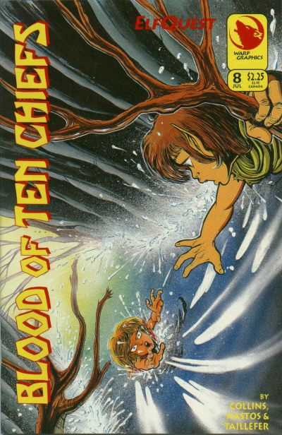 Elfquest: Blood of Ten Chiefs #8 comic books - cover scans photos Elfquest: Blood of Ten Chiefs #8 comic books - covers, picture gallery