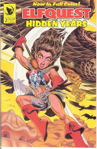 Elfquest: Hidden Years #2 Comic Books - Covers, Scans, Photos  in Elfquest: Hidden Years Comic Books - Covers, Scans, Gallery