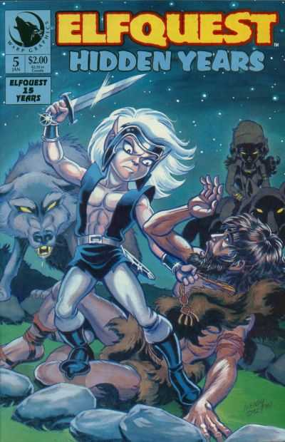 Elfquest: Hidden Years #5 comic books - cover scans photos Elfquest: Hidden Years #5 comic books - covers, picture gallery