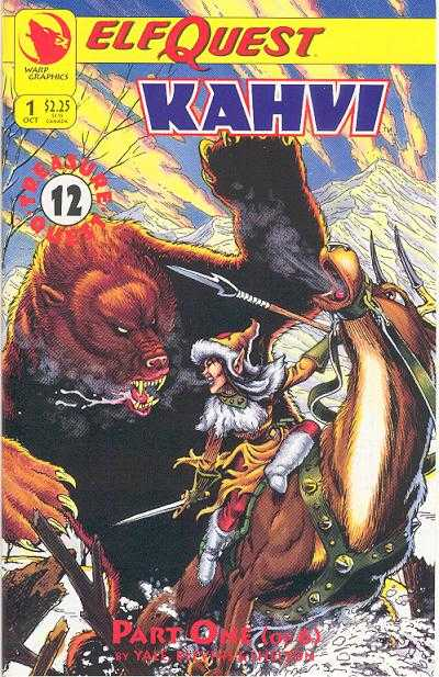 Elfquest: Kahvi comic books