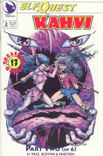 Elfquest: Kahvi #2 Comic Books - Covers, Scans, Photos  in Elfquest: Kahvi Comic Books - Covers, Scans, Gallery