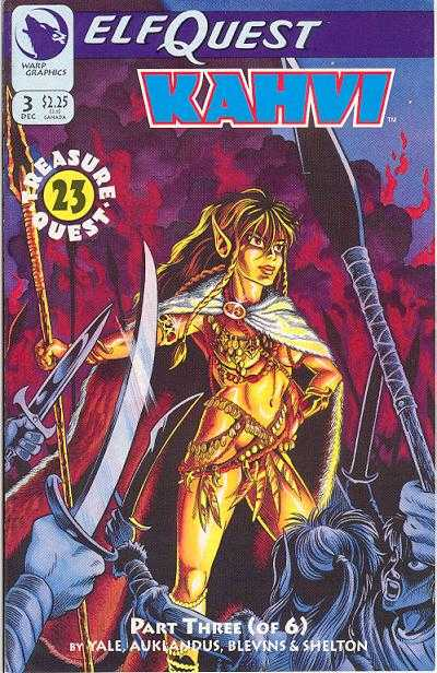 Elfquest: Kahvi #3 Comic Books - Covers, Scans, Photos  in Elfquest: Kahvi Comic Books - Covers, Scans, Gallery