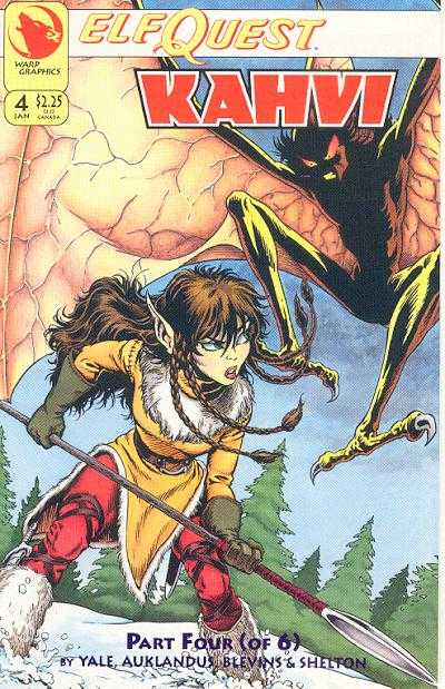 Elfquest: Kahvi #4 Comic Books - Covers, Scans, Photos  in Elfquest: Kahvi Comic Books - Covers, Scans, Gallery