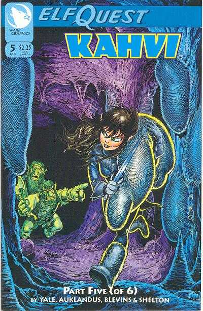 Elfquest: Kahvi #5 Comic Books - Covers, Scans, Photos  in Elfquest: Kahvi Comic Books - Covers, Scans, Gallery