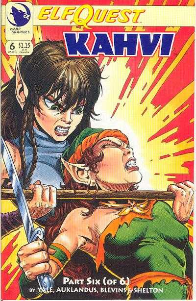 Elfquest: Kahvi #6 Comic Books - Covers, Scans, Photos  in Elfquest: Kahvi Comic Books - Covers, Scans, Gallery