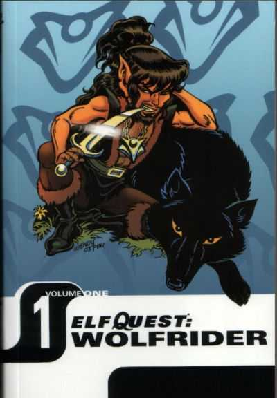 Elfquest: Wolfrider #1 Comic Books - Covers, Scans, Photos  in Elfquest: Wolfrider Comic Books - Covers, Scans, Gallery