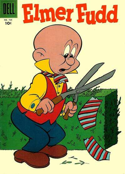 Elmer Fudd #5 comic books - cover scans photos Elmer Fudd #5 comic books - covers, picture gallery