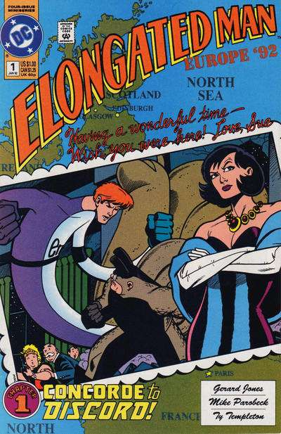 Elongated Man Comic Books. Elongated Man Comics.