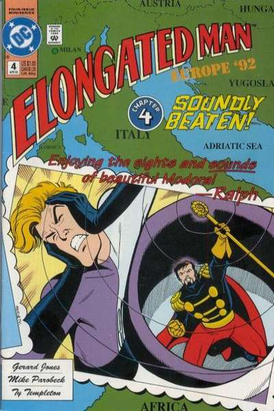 Elongated Man #4 comic books for sale