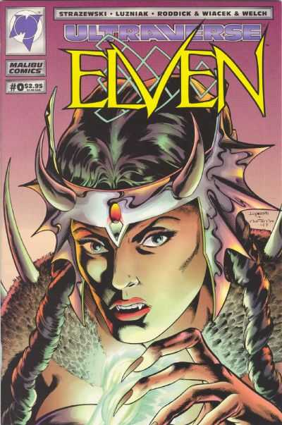 Elven #0 comic books - cover scans photos Elven #0 comic books - covers, picture gallery