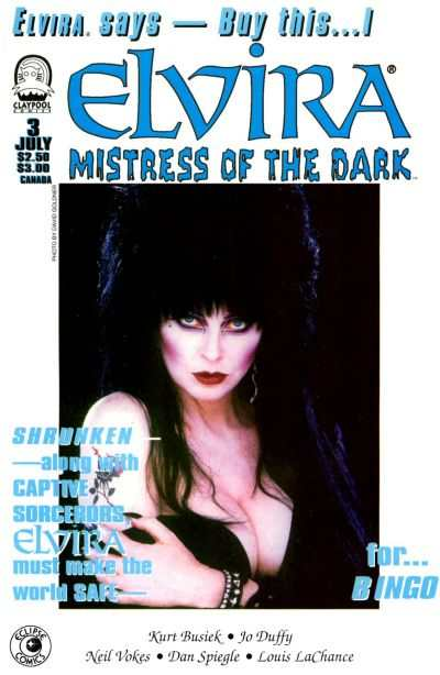 Elvira: Mistress of the Dark #3 comic books - cover scans photos Elvira: Mistress of the Dark #3 comic books - covers, picture gallery