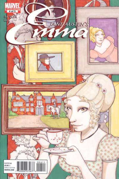Emma #4 Comic Books - Covers, Scans, Photos  in Emma Comic Books - Covers, Scans, Gallery