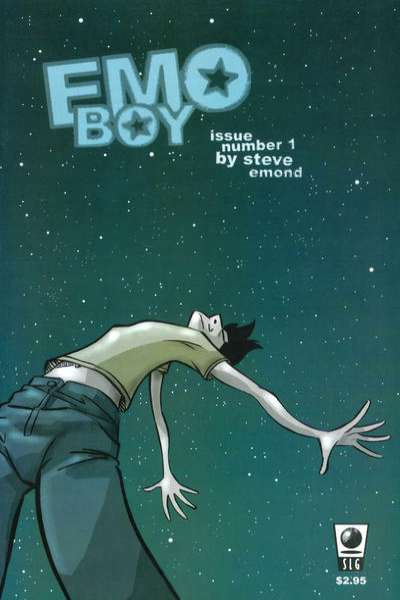 Emo Boy comic books