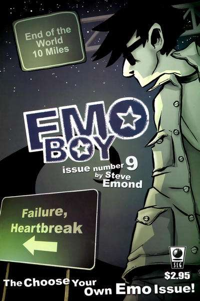 Emo Boy #9 comic books - cover scans photos Emo Boy #9 comic books - covers, picture gallery