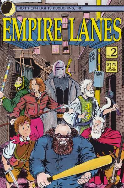 Empire Lanes #2 Comic Books - Covers, Scans, Photos  in Empire Lanes Comic Books - Covers, Scans, Gallery
