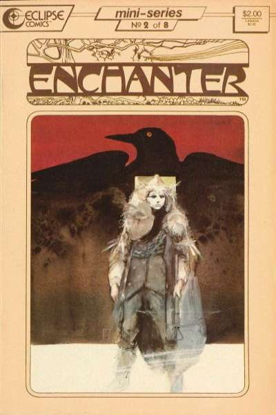 Enchanter #2 Comic Books - Covers, Scans, Photos  in Enchanter Comic Books - Covers, Scans, Gallery