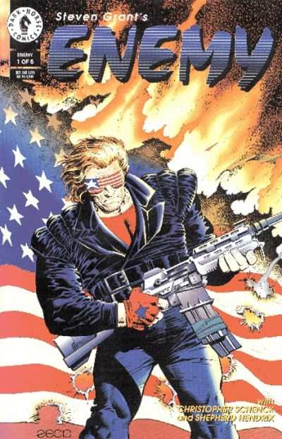 Enemy #1 Comic Books - Covers, Scans, Photos  in Enemy Comic Books - Covers, Scans, Gallery