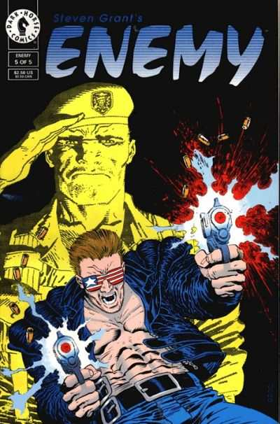 Enemy #5 Comic Books - Covers, Scans, Photos  in Enemy Comic Books - Covers, Scans, Gallery