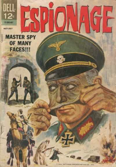 Espionage comic books