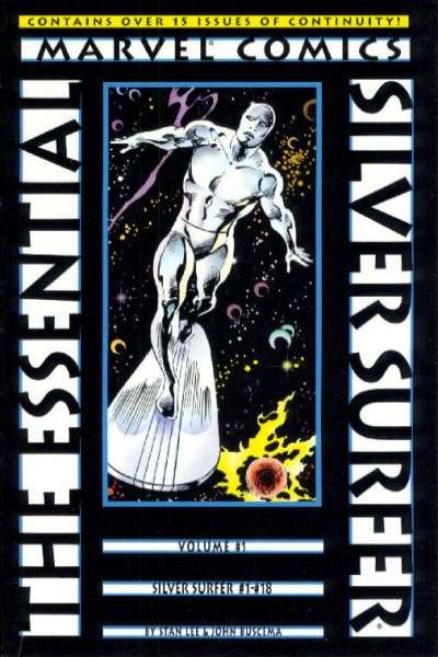 Essential Silver Surfer Comic Books. Essential Silver Surfer Comics.