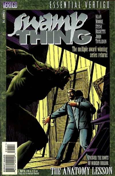 Essential Vertigo: Swamp Thing comic books