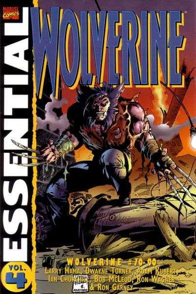 Essential Wolverine #4 comic books - cover scans photos Essential Wolverine #4 comic books - covers, picture gallery