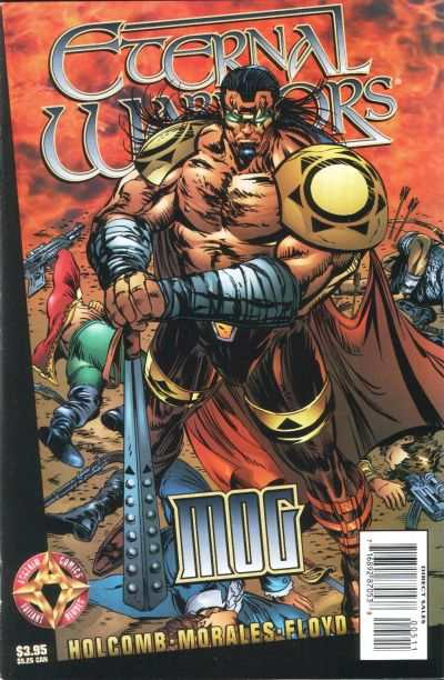 Eternal Warriors: Mog #1 comic books - cover scans photos Eternal Warriors: Mog #1 comic books - covers, picture gallery