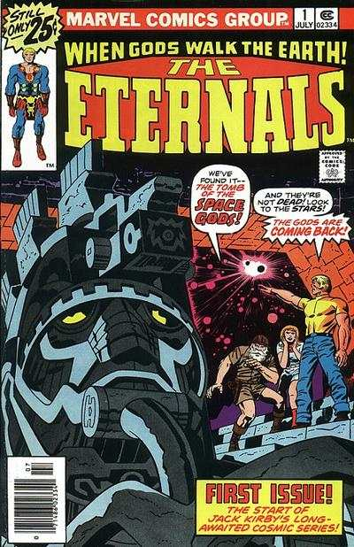 Eternals #1 comic books - cover scans photos Eternals #1 comic books - covers, picture gallery