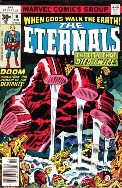 Eternals #10 comic books - cover scans photos Eternals #10 comic books - covers, picture gallery