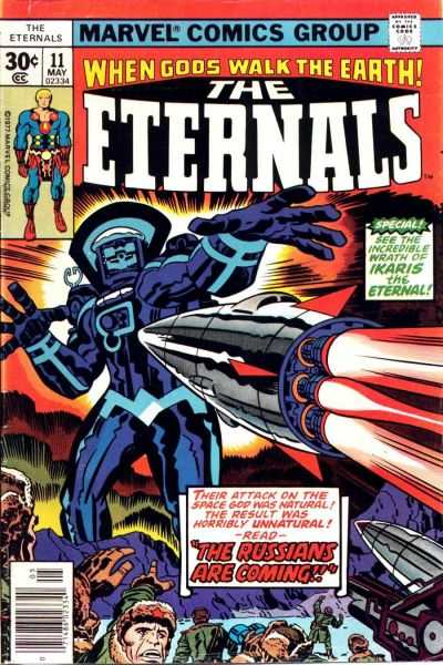 Eternals #11 comic books - cover scans photos Eternals #11 comic books - covers, picture gallery