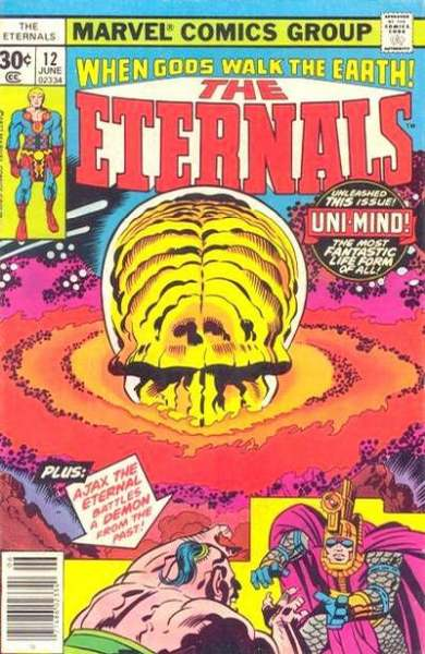 Eternals #12 Comic Books - Covers, Scans, Photos  in Eternals Comic Books - Covers, Scans, Gallery
