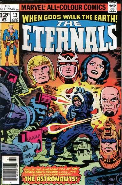 Eternals #13 comic books - cover scans photos Eternals #13 comic books - covers, picture gallery