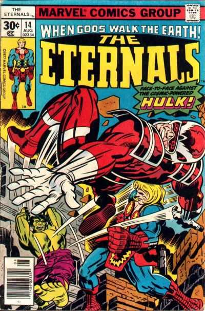 Eternals #14 comic books - cover scans photos Eternals #14 comic books - covers, picture gallery