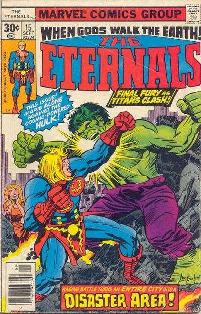 Eternals #15 comic books - cover scans photos Eternals #15 comic books - covers, picture gallery