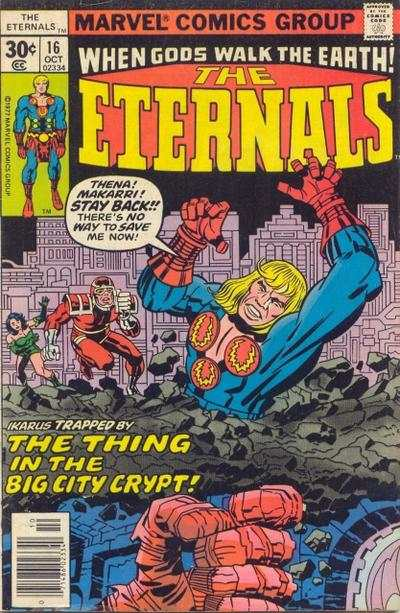 Eternals #16 comic books - cover scans photos Eternals #16 comic books - covers, picture gallery