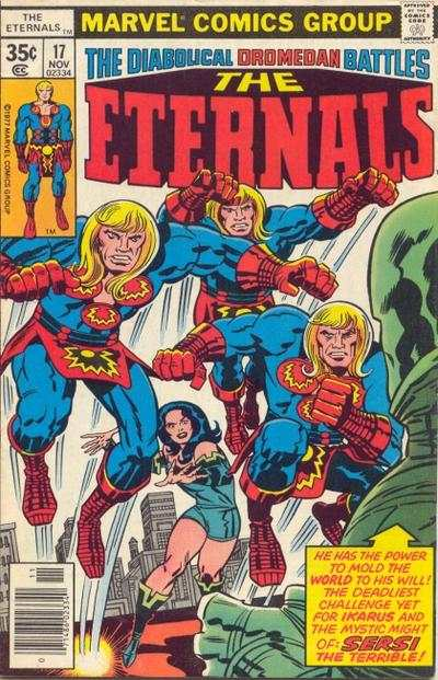 Eternals #17 comic books - cover scans photos Eternals #17 comic books - covers, picture gallery