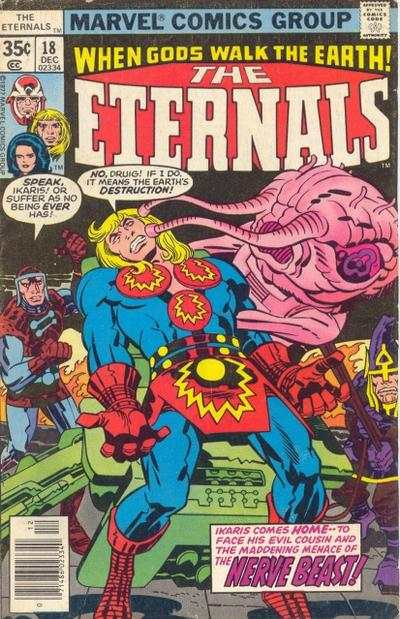 Eternals #18 comic books - cover scans photos Eternals #18 comic books - covers, picture gallery