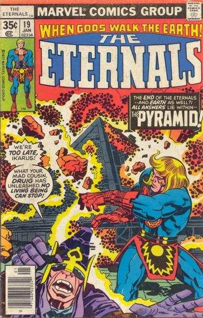 Eternals #19 comic books - cover scans photos Eternals #19 comic books - covers, picture gallery