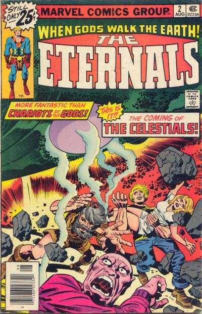 Eternals #2 Comic Books - Covers, Scans, Photos  in Eternals Comic Books - Covers, Scans, Gallery