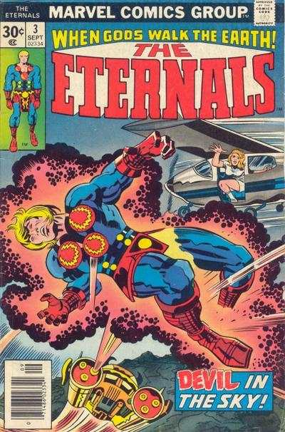 Eternals #3 comic books - cover scans photos Eternals #3 comic books - covers, picture gallery