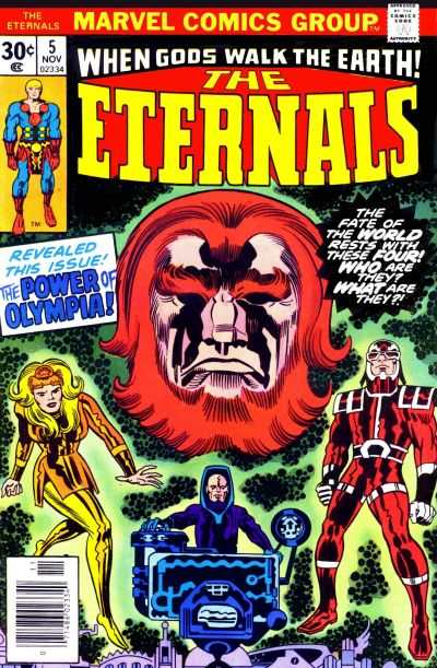 Eternals #5 comic books - cover scans photos Eternals #5 comic books - covers, picture gallery