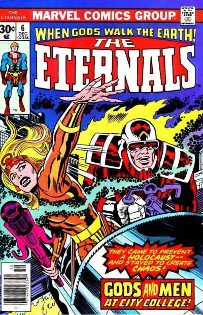 Eternals #6 Comic Books - Covers, Scans, Photos  in Eternals Comic Books - Covers, Scans, Gallery