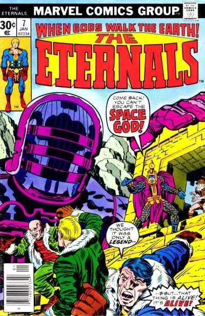 Eternals #7 Comic Books - Covers, Scans, Photos  in Eternals Comic Books - Covers, Scans, Gallery