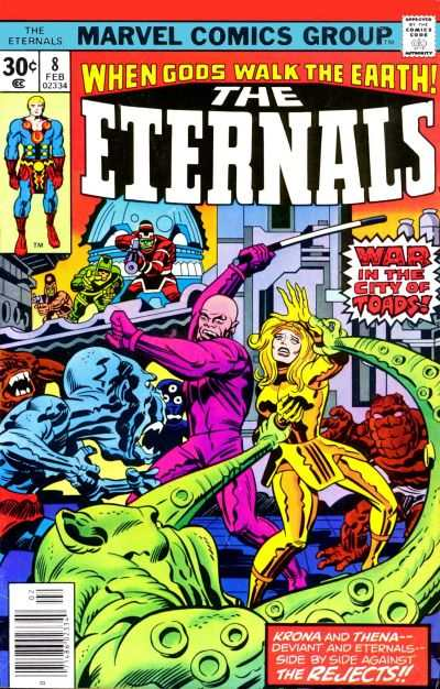 Eternals #8 comic books - cover scans photos Eternals #8 comic books - covers, picture gallery
