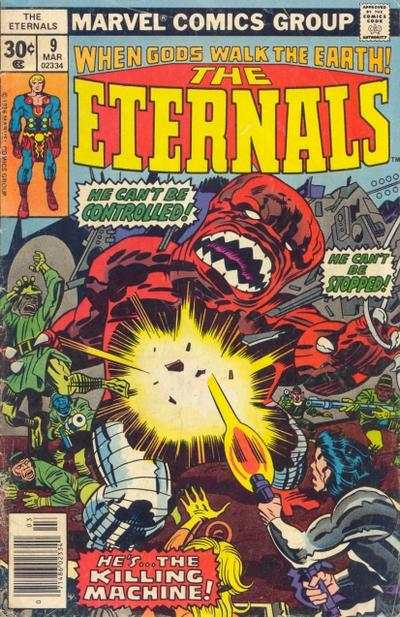 Eternals #9 comic books - cover scans photos Eternals #9 comic books - covers, picture gallery