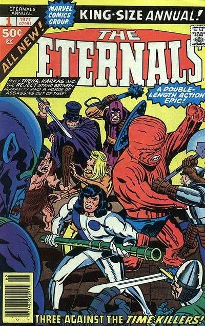 Eternals #1 comic books for sale