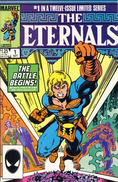 Eternals Comic Books. Eternals Comics.