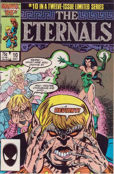 Eternals #10 comic books for sale